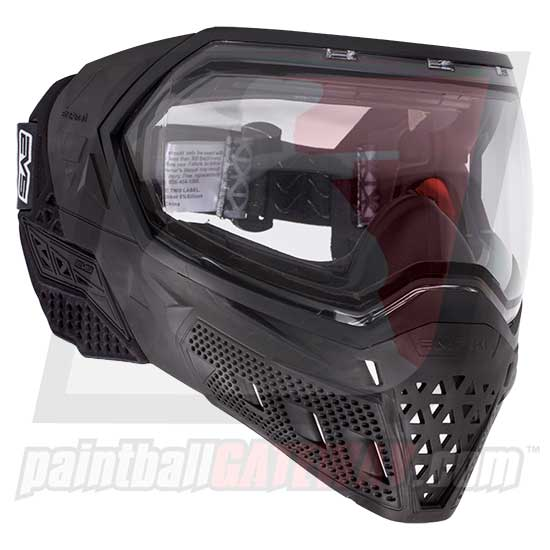 Empire EVS Paintball Goggle System - Black/Black
