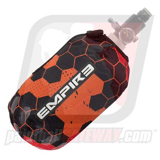 Empire FT 68ci Compressed Air Tank Cover - Hex Red
