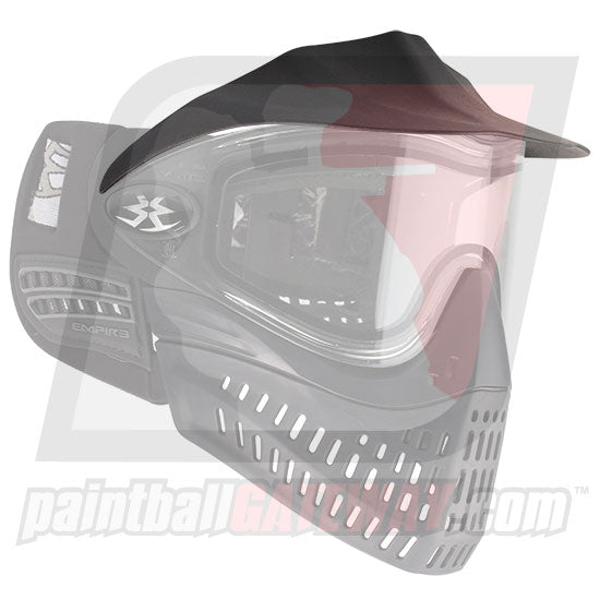 Empire E-Flex/Helix Goggle/Mask Visor - Black - (#V11)