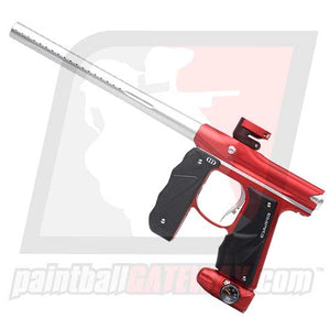 Empire MINI GS Paintball Gun - Dust Red/Silver