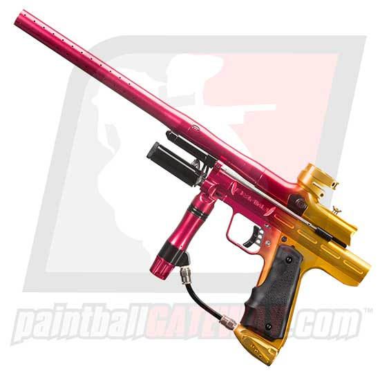Empire Resurrection Autococker - Polished Fade Red/Gold
