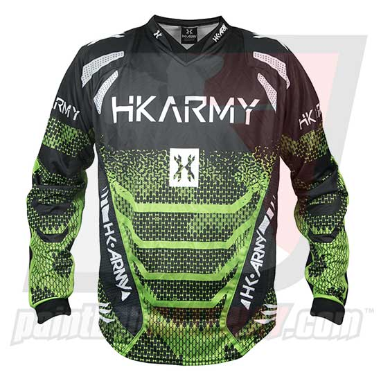 HK Army Freeline Jersey - Energy - Green/Black