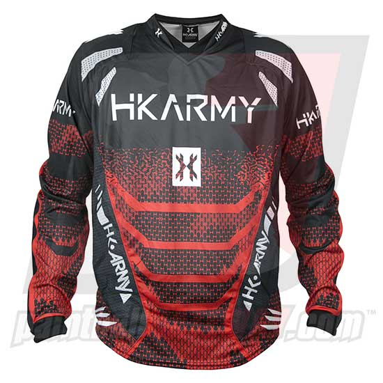 HK Army Freeline Jersey - Fire - Red/Black