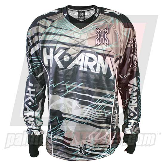 HK Army Hardline Jersey Blank - Atomic - Silver/Teal