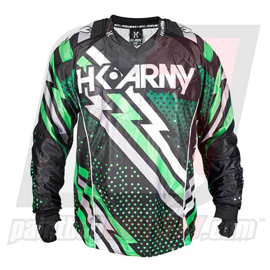 HK Army Hardline Jersey Blank - Energy - Green/Black