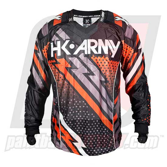 HK Army Hardline Jersey Blank - Fire - Red/Black