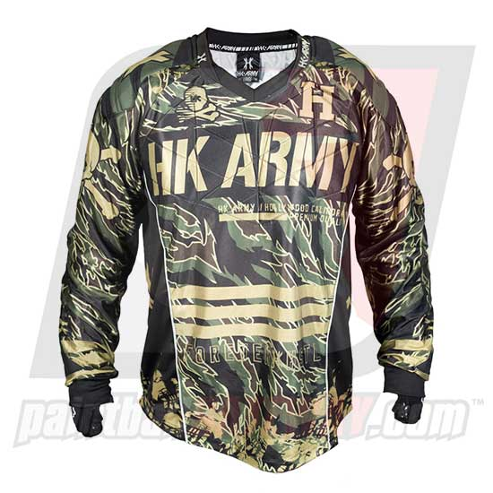 HK Army Hardline Jersey Blank - Hunter - Tiger/Black