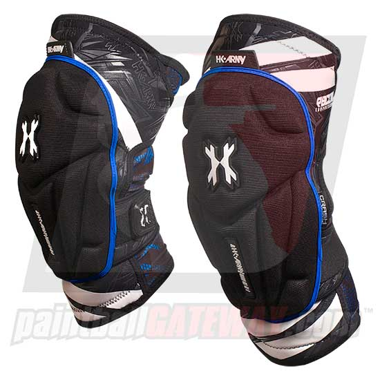 HK Army Crash Knee Pads - Black