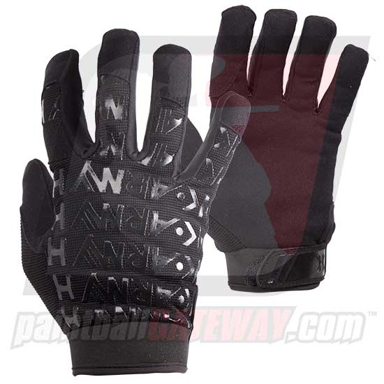 HK Army HSTL Line Base Full Finger Gloves - Black