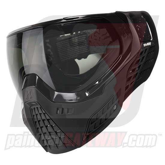 HK Army KLR Thermal Goggle/Mask Version 2 - Onyx Black/Black with Smoke Lens