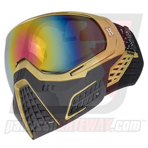 HK Army KLR Thermal Goggle/Mask Version 2 - Metallic Gold with Fusion Lens