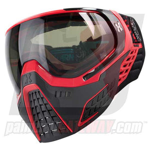 HK Army KLR Thermal Goggle/Mask Version 2 - Fire Red/Black with Smoke Lens