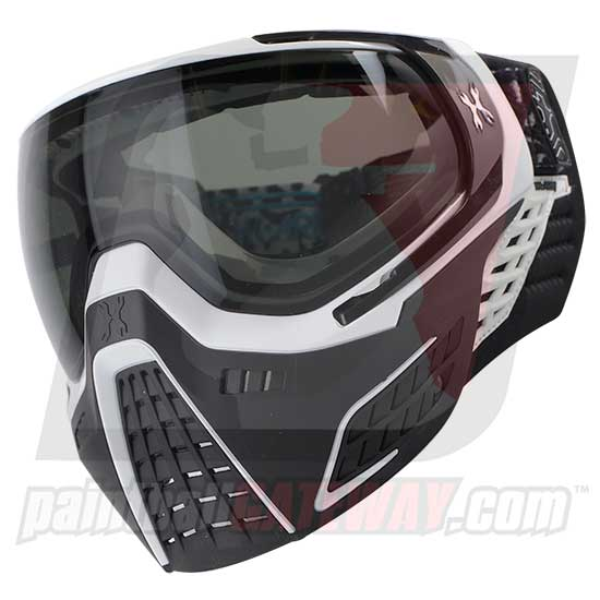 HK Army KLR Thermal Goggle/Mask Version 2 - Snow White/Black with Smoke Lens