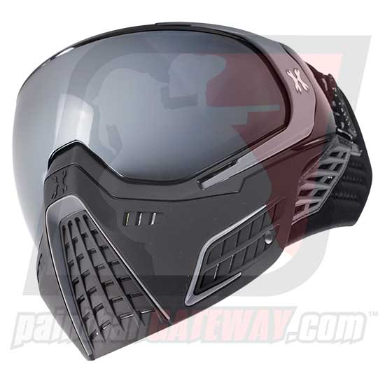 HK Army KLR Thermal Goggle/Mask Version 2 - Platinum Black/Grey with Chrome Lens