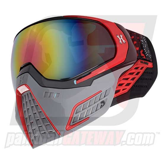 HK Army KLR Thermal Goggle/Mask Version 2 - Slate Black/Red
