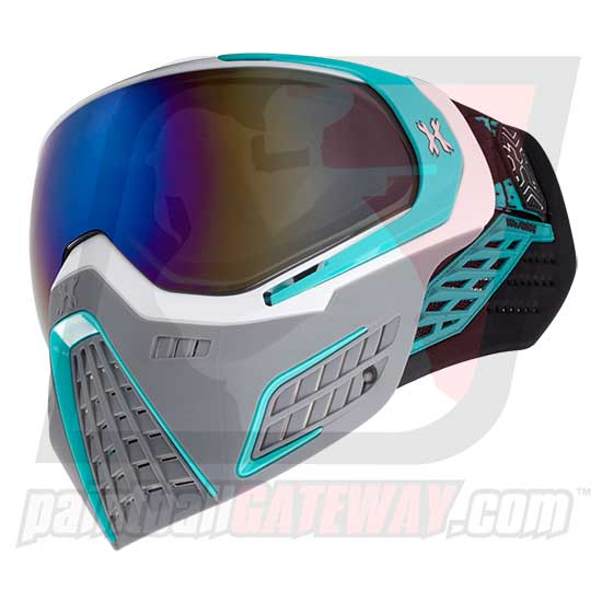 HK Army KLR Thermal Goggle/Mask Version 2 - Slate White/Teal