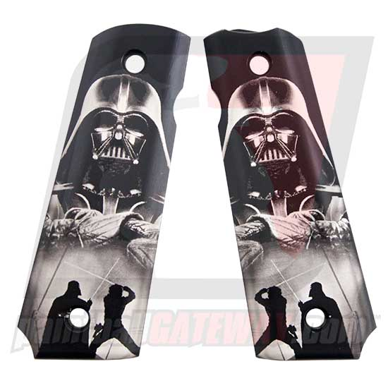 ICD 1911/45 Grip Panels - Darth Vader - (#3K21)