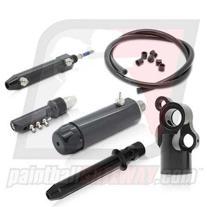 Inception Designs Autococker Front End Pneumatic w/ Volumizer Kit V2 - Black (#3Q14)