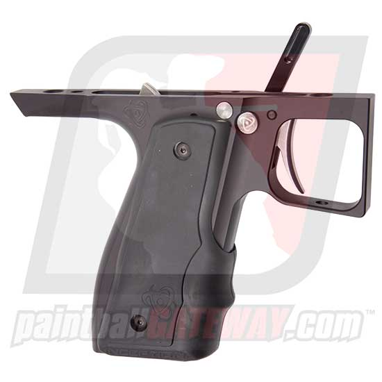 Inception Designs 45 Pivot Trigger Frame Complete with Auto-Trigger (Fits: WGP Pump/Empire Sniper) - Black Dust - (#3B52)