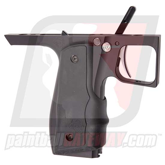 Inception Designs 86 Pivot Trigger Frame Complete with Auto-Trigger (Fits: WGP Pump/Empire Sniper) - Black Dust - (#S38)
