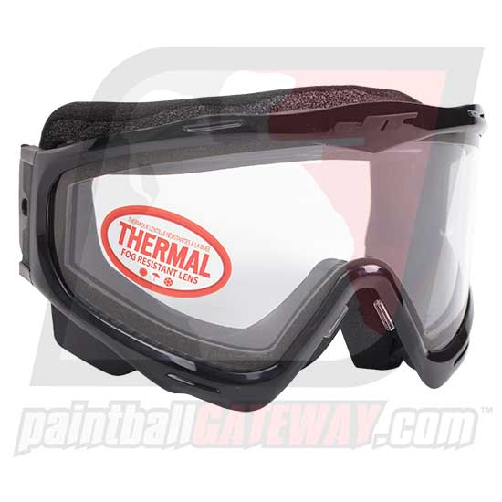 JT Spectra Frame with Clear Thermal Lens - Black - (#S15)