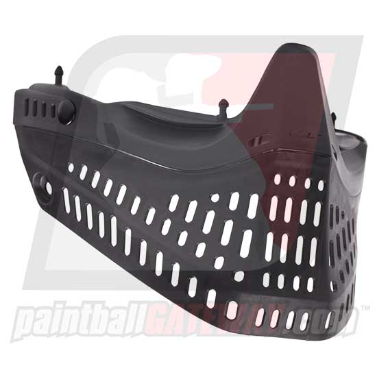 JT Spectra ProFlex Bottom Face Mask v3.0 - Black - (#S36)