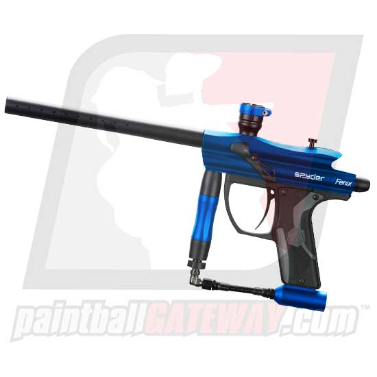 Kingman Spyder Fenix Paintball Gun - Gloss Blue