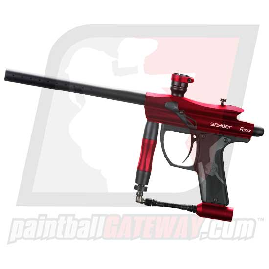 Kingman Spyder Fenix Paintball Gun - Gloss Red