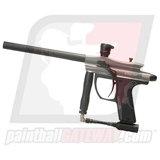 Kingman Spyder Fenix Paintball Gun - Silver Grey