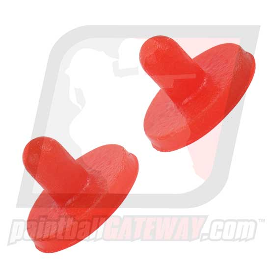 Kingman Spyder Hammer 7 Rubber Ball Detent Set - Red - (#3S34)