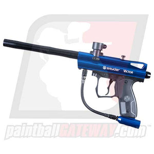Kingman Spyder Victor Paintball Gun - Gloss Blue