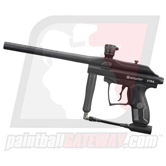 Kingman Spyder XTRA Paintball Gun - Black Matte