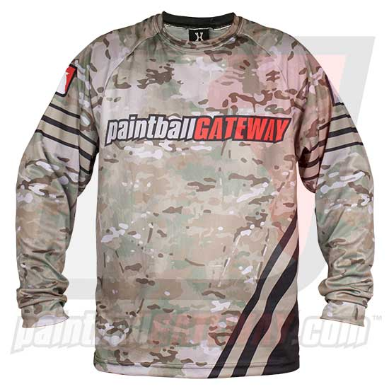 Paintball Gateway Dry Fit Long Sleeve Shirt - MultiCam