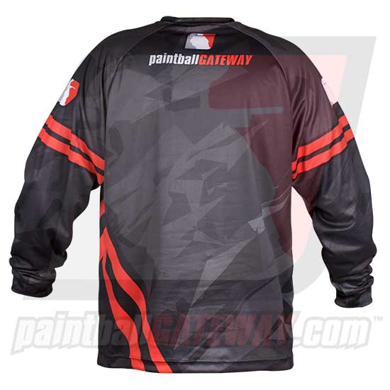 Paintball Gateway Dry Fit Long Sleeve Shirt - Shattered