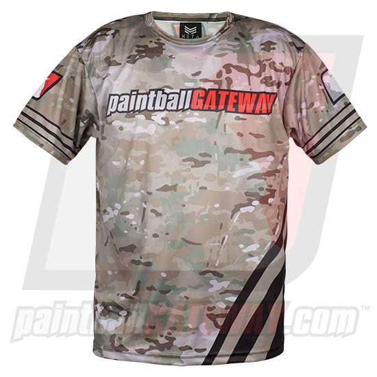 Paintball Gateway Dry Fit T-Shirt - MultiCam