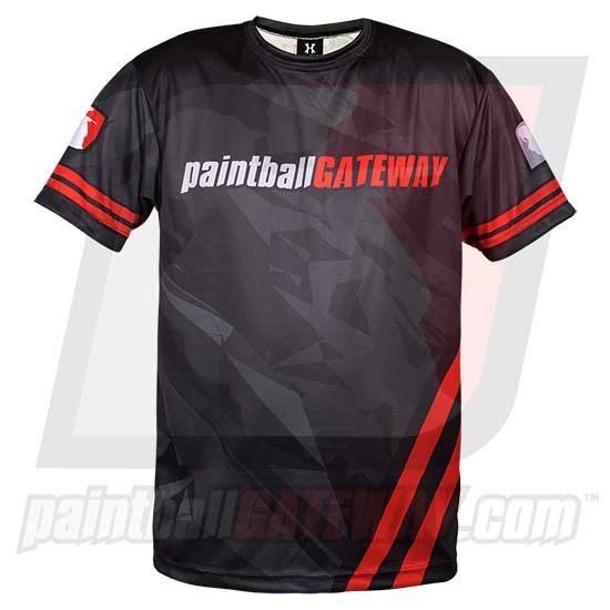 Paintball Gateway Dry Fit T-Shirt - Shattered