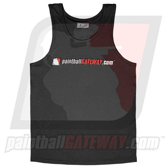 Paintball Gateway Dry Fit Tank Top - Black