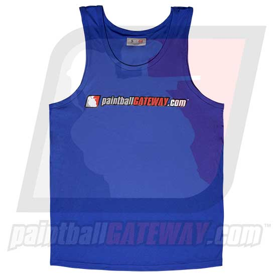 Paintball Gateway Dry Fit Tank Top - Blue