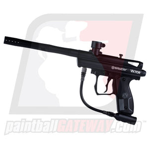 Kingman Spyder Victor Paintball Gun - Black Matte