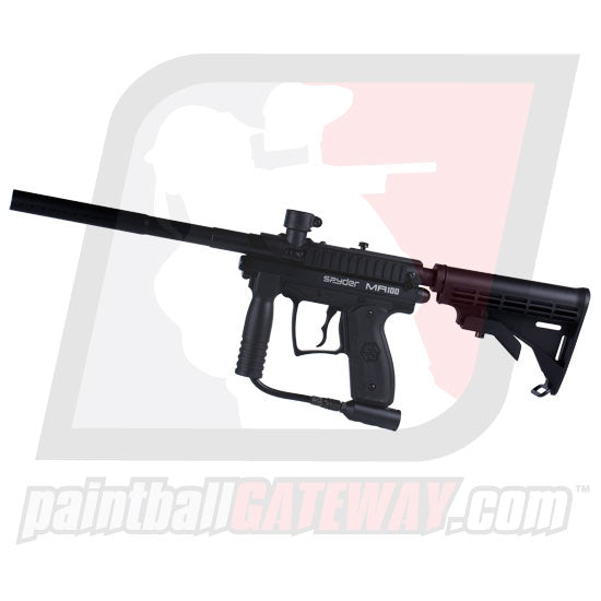 Kingman Spyder MR100 Pro Paintball Gun - Black Matte