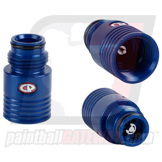 CP Custom Products Tank Regulator Extender - Polished Blue - (#3T14)