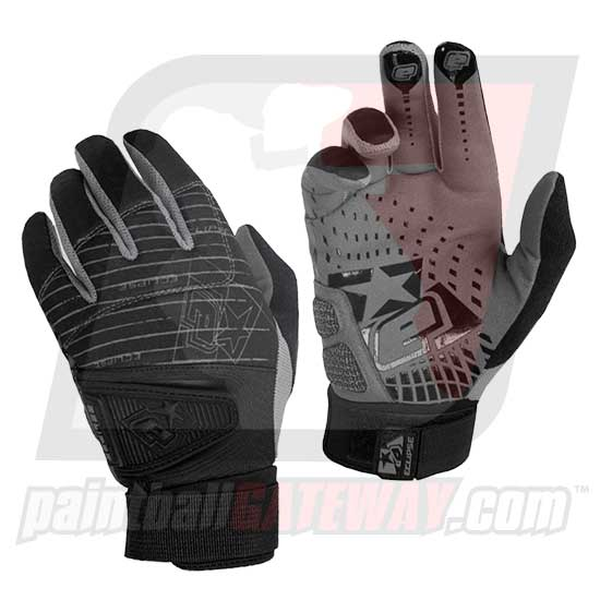 Planet Eclipse Distortion Gen2 Full Finger Glove - Black