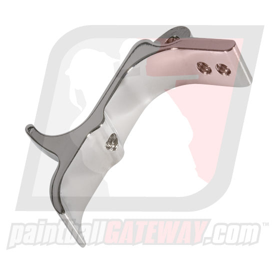 WGP WorrBlade Select Fire Frame Trigger - Nickel - (#3C40)