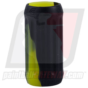 KM Column Inline Regulator Grip Cover - Swirl Black/Yellow - (#3Q26)
