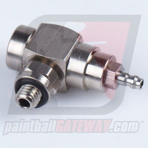 Palmers Pursuit QEV Quick Exhaust Valve w/Swivel Lock Nut (10-32) - Stainless - (#3G20)