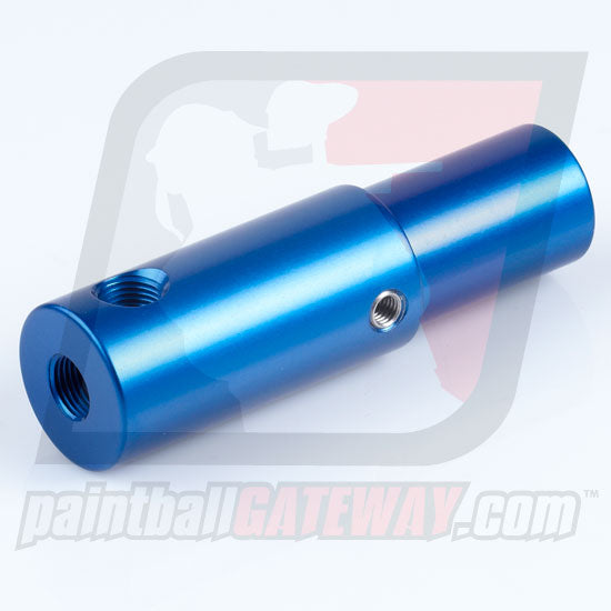 CCI Phantom Rear Air Adapter with Gauge Port - Blue - (#3R9)