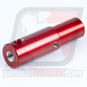 CCI Phantom Rear Air Adapter with Gauge Port - Red - (#3R9)