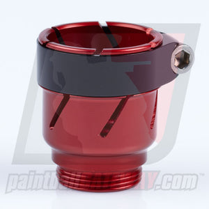 CCI Phantom Clamping Feed Neck - Red - (#3P22)