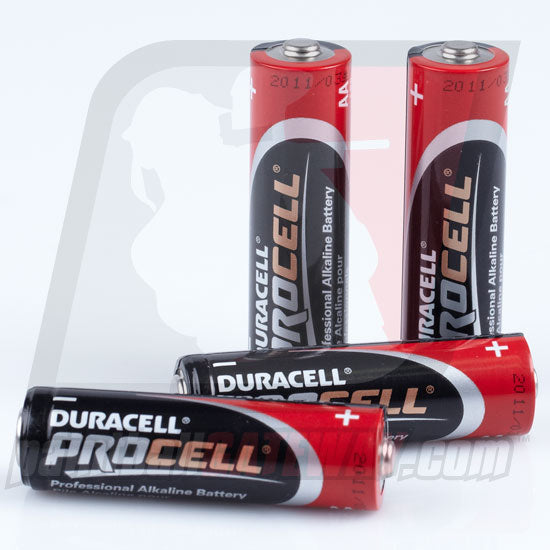 Duracell Battery ProCell AA (4 Pack) - (#3Q8)