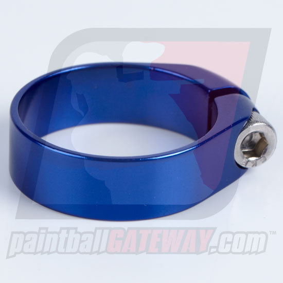 Check It/CCM Feed Neck Collar Assembly - Polished Blue - (#3M7)